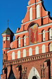 Church in Vilnius Royalty Free Stock Photo
