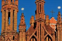 Church in Vilnius Royalty Free Stock Photos
