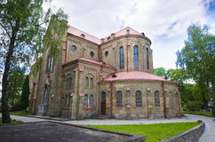 Church in vilnius Stock Photos
