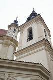 Church in Vilnius Royalty Free Stock Photography