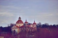 Church in Vilnius Stock Photos
