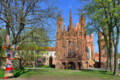 Church in Vilnius, Lithuania Royalty Free Stock Image