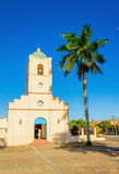 The church in Vinales, Cuba Royalty Free Stock Photo