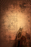 Church vintage background (vertical) Royalty Free Stock Image