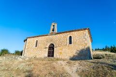 Church of the Virgen del Camino. Santo Domingo de Silos, Burgos, Spain stock photos