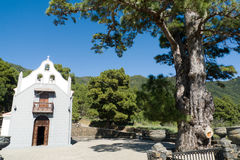 Church of the virgen del pino, La Palma Stock Photography