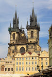 Church of Virgin Maria Before Tyn, Prague Royalty Free Stock Image