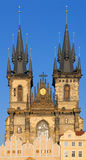 Church of Virgin Maria Before Tyn in Prague Stock Images