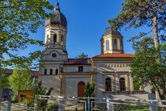 The church Virgin Mary in  Dimitrovgrad, Republic of Serbia Stock Photos