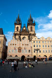 Church of the Virgin Mary. The main church of old town of Prague Czech Republic royalty free stock images