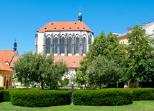 Church Virgin Mary Snezne in Prag Royalty Free Stock Images