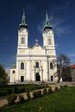 Church of the Virgin Queen. In Ostrava in Czech republic Stock Photos