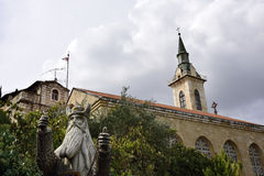 Church of the Visitation, Jerusalem Royalty Free Stock Photo