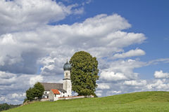 Church of the Visitation in Oberbuchen Stock Image