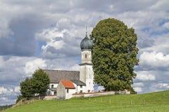 Church of the Visitation in Oberbuchen Stock Photos