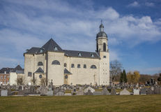 Church of the Vlierbeek abbey in Leuven Royalty Free Stock Images