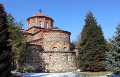 The church in a Vodoca monastery Royalty Free Stock Photo