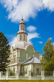 Church in volkovo Royalty Free Stock Image