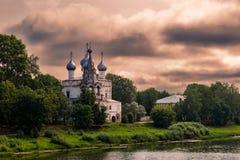 Church in vologda Royalty Free Stock Photo
