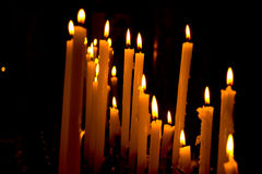 Church Votive Candles Royalty Free Stock Image