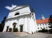 Church in Vranov near Brno Stock Photography