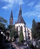 Church, Vyserhrad. Royalty Free Stock Photos