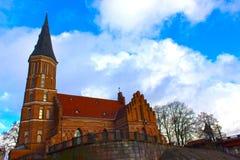 Church of Vytautas in old town. Kaunas, Lithuania Stock Photo