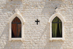 Church wall Stock Photo
