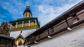 Church. Wall in the Pskov Royalty Free Stock Photos