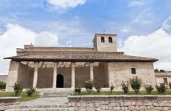 Church in Wamba, Valladolid Stock Images