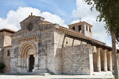 Church in Wamba, Valladolid Royalty Free Stock Image