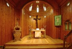 Church Wang inside Stock Images