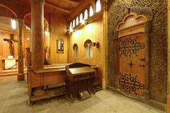 Church Wang interior Stock Images