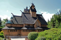 Church Wang in Karpacz Royalty Free Stock Photos