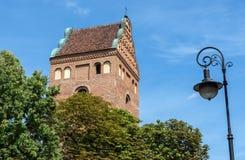 Church in Warsaw Stock Image