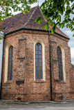 Church in Warsaw. Church of the Visitation of the Blessed Virgin Mary in Warsaw, Poland Stock Photography
