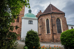 Church in Warsaw. Church of the Visitation of the Blessed Virgin Mary in Warsaw, Poland Stock Image