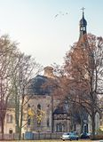Lutheran church in Dubulti, Jurmala, Latvia Royalty Free Stock Images