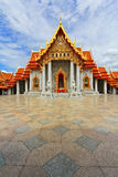 Church at Wat Benchamabophit Royalty Free Stock Photography