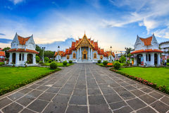 Church at Wat Benchamabophit Stock Photography