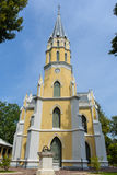 Church in Wat Niwet Thammaprawat. At ayutthaya ,thailand Stock Photo