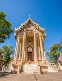Church in Wat Pa Sutdhawas, sakon nakhon, thailand Royalty Free Stock Photos