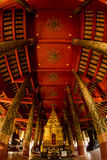 Church in Wat Phra That Lampang Luang, it's tenple a Lanna-style Buddhist temple Stock Image