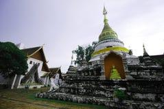 Church wat Thai Lanna Stock Photos