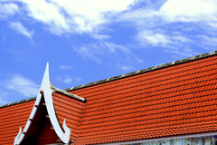 Church in wat ThaLuang Thailand. Royalty Free Stock Photo