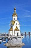 Church on the water Royalty Free Stock Photography