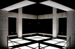 Church on the Water. Modern Architecture of Tadao Ando, located at Tomamu, Hokkaido, Japan Stock Photography