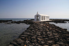 Church on water Royalty Free Stock Photo