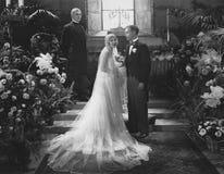 Church wedding Stock Photography