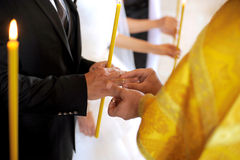 Church Wedding Ceremony Royalty Free Stock Photography